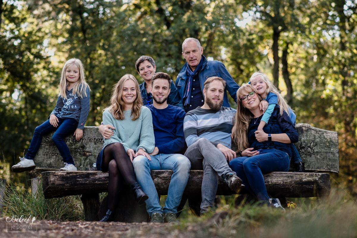 Herfstig Familieportret in Oisterwijk