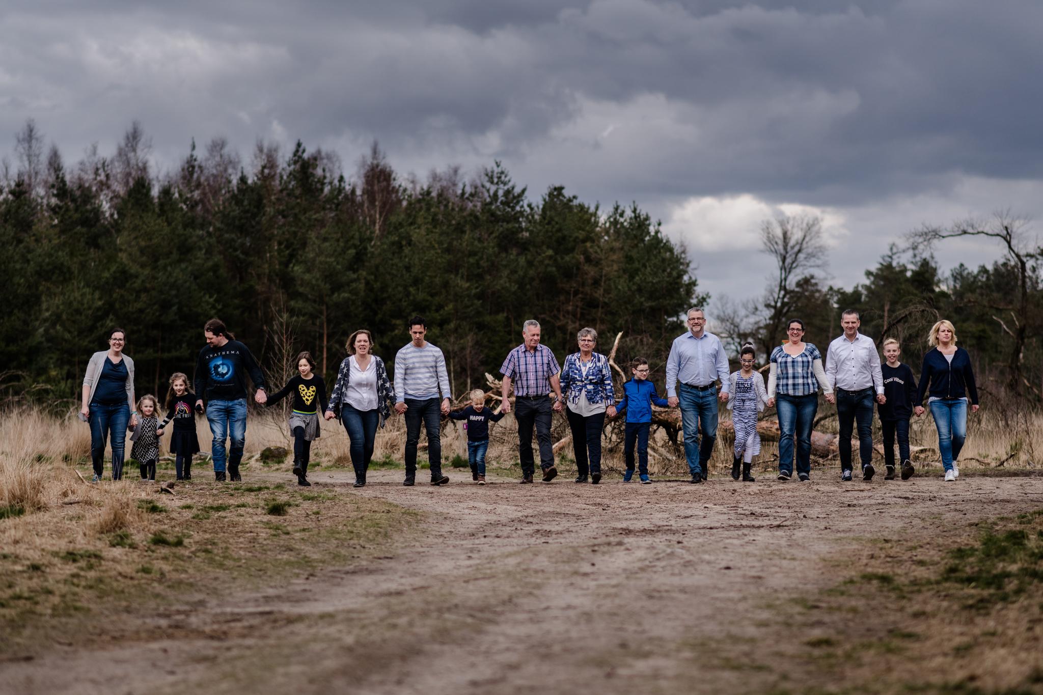 Familieshoot in het Leenderbos in Valkenswaard en Eindhoven